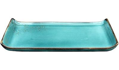 CreaTable Servierplatte »Nature Collection«, (Set, 2 tlg.), 33x16,5 cm kaufen