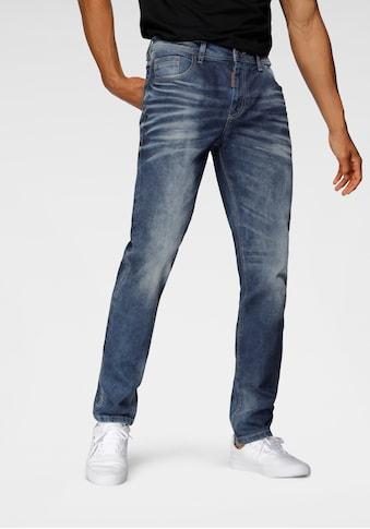 Cipo & Baxx Slim-fit-Jeans, auffällig, markante Waschung kaufen