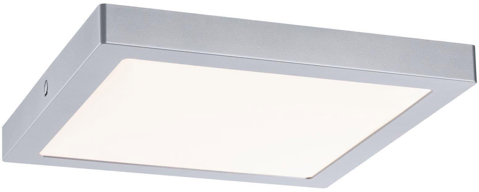 Paulmann,LED Deckenleuchte LED Panel Abia 300x300mm 22 W Chrom matt