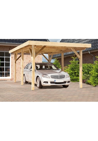 Kiehn - Holz Einzelcarport »KH 101«, BxT: 340x510 cm, mit Alu - Dach kaufen