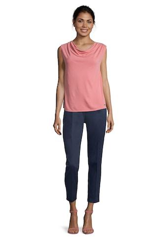 Betty&Co Kurzarm - Shirt »mit Wasserfallausschnitt« kaufen