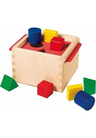 Selecta Steckspielzeug »Sortierbox«, aus Holz, Made in Germany kaufen