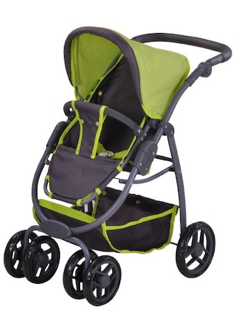 Knorrtoys® Puppenwagen »Coco - tec green«, 2-in-1 kaufen