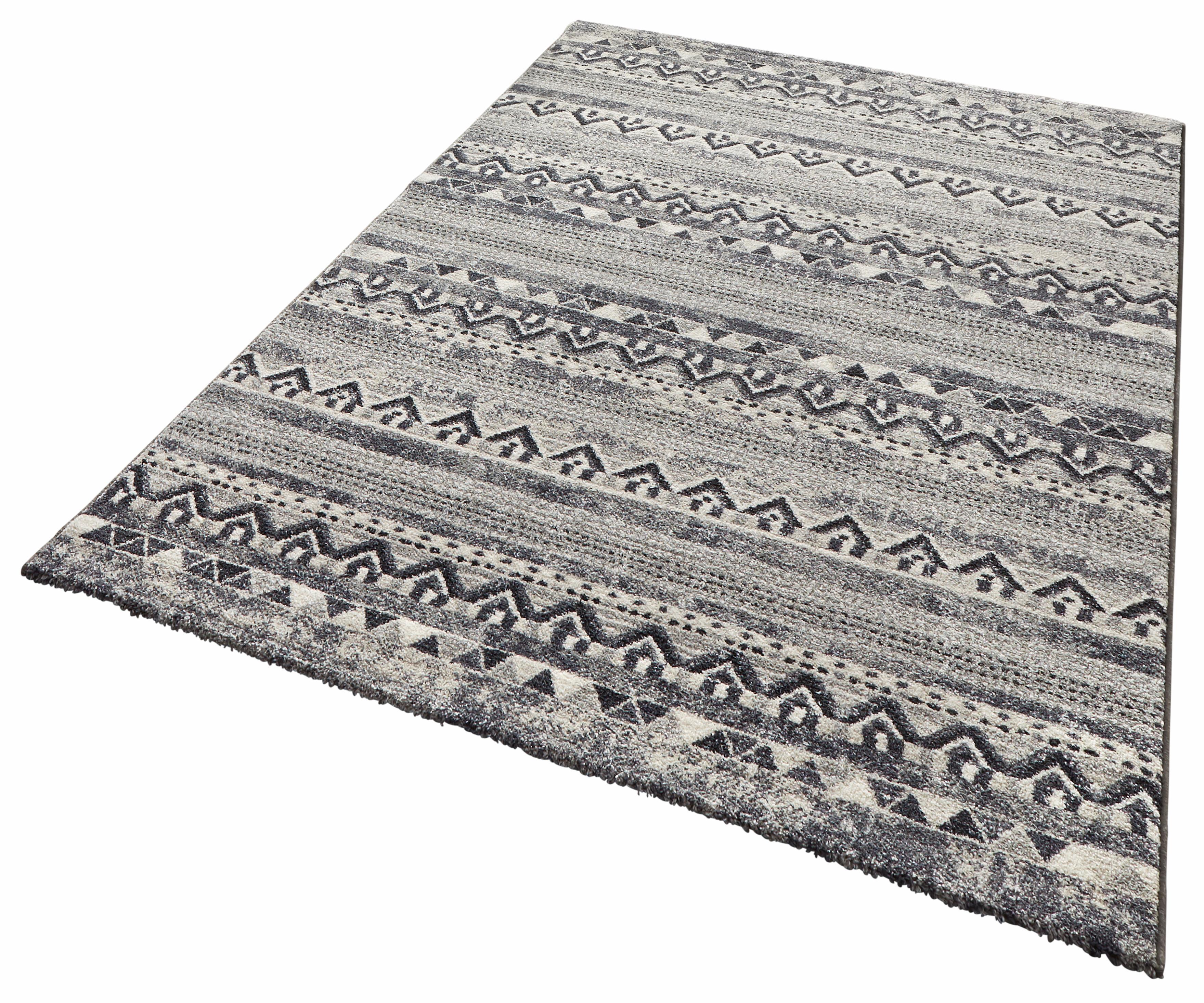 Teppich Bohemian SCHÖNGEIST & PETERSEN rechteckig Höhe 9 mm