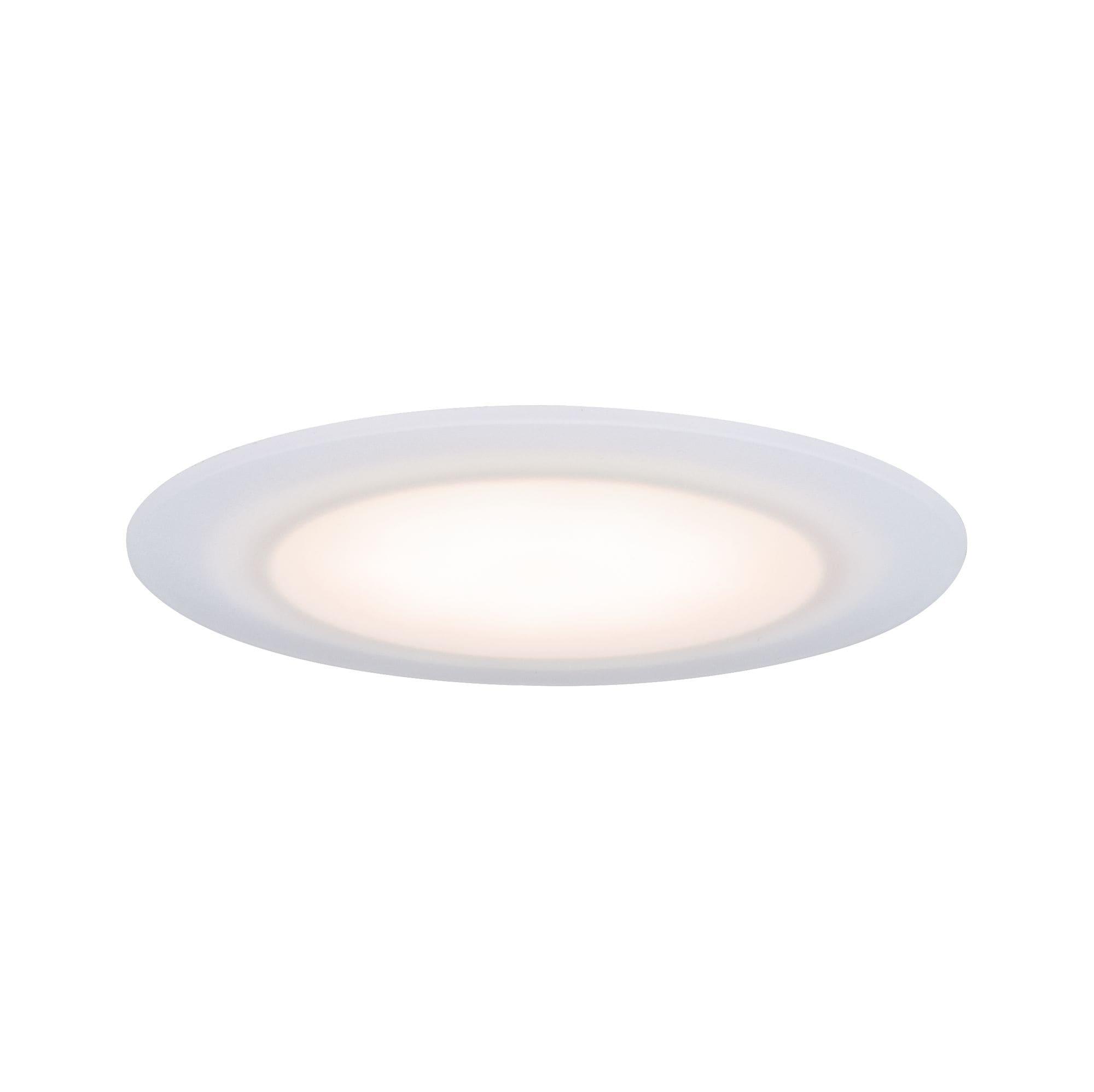 Paulmann LED Einbaustrahler Suon dimmbar 2700K 6,5W 230 V Satiniert, 1 St., Warmweiß