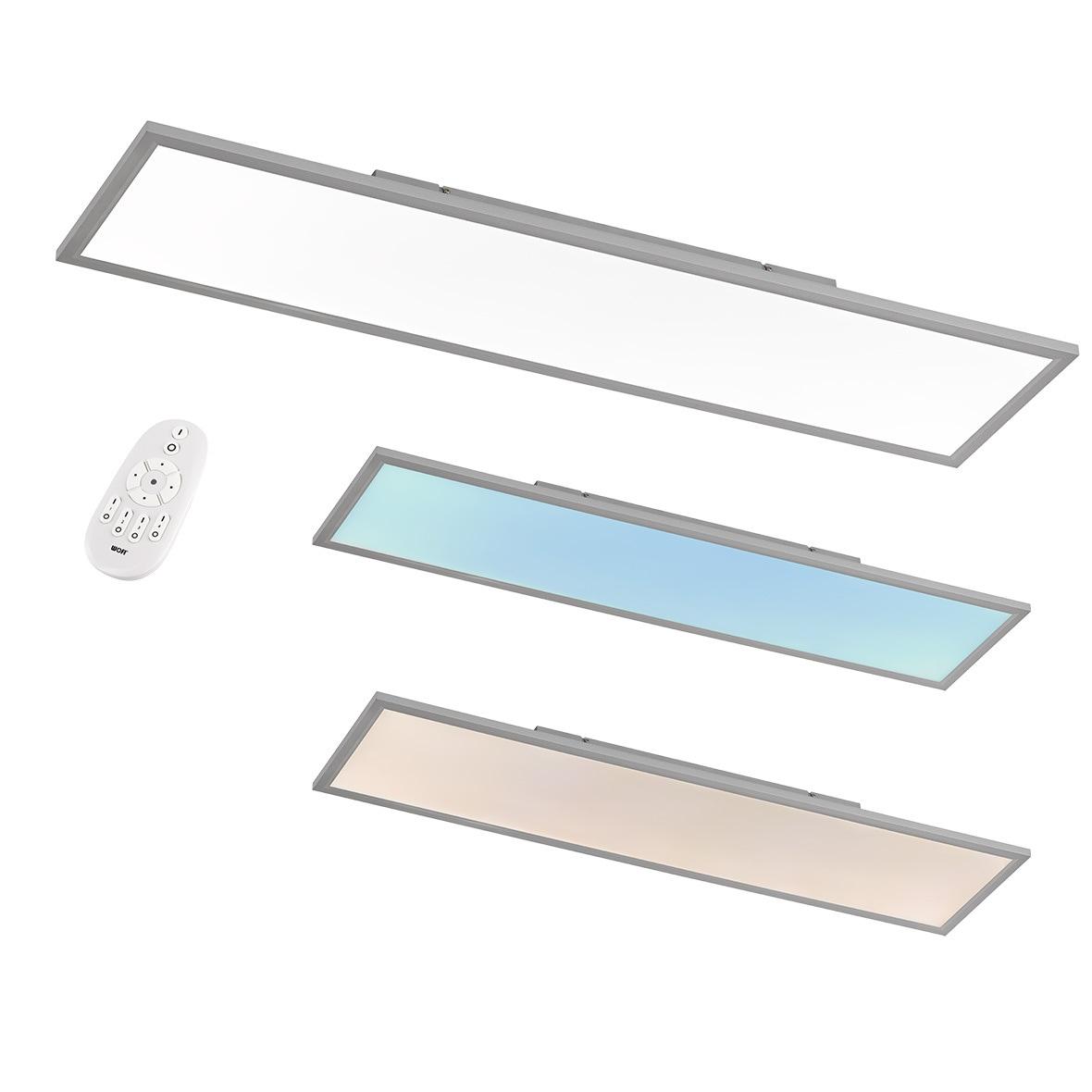 WOFI LED Deckenleuchte Milo, LED-Board, Tageslichtweiß
