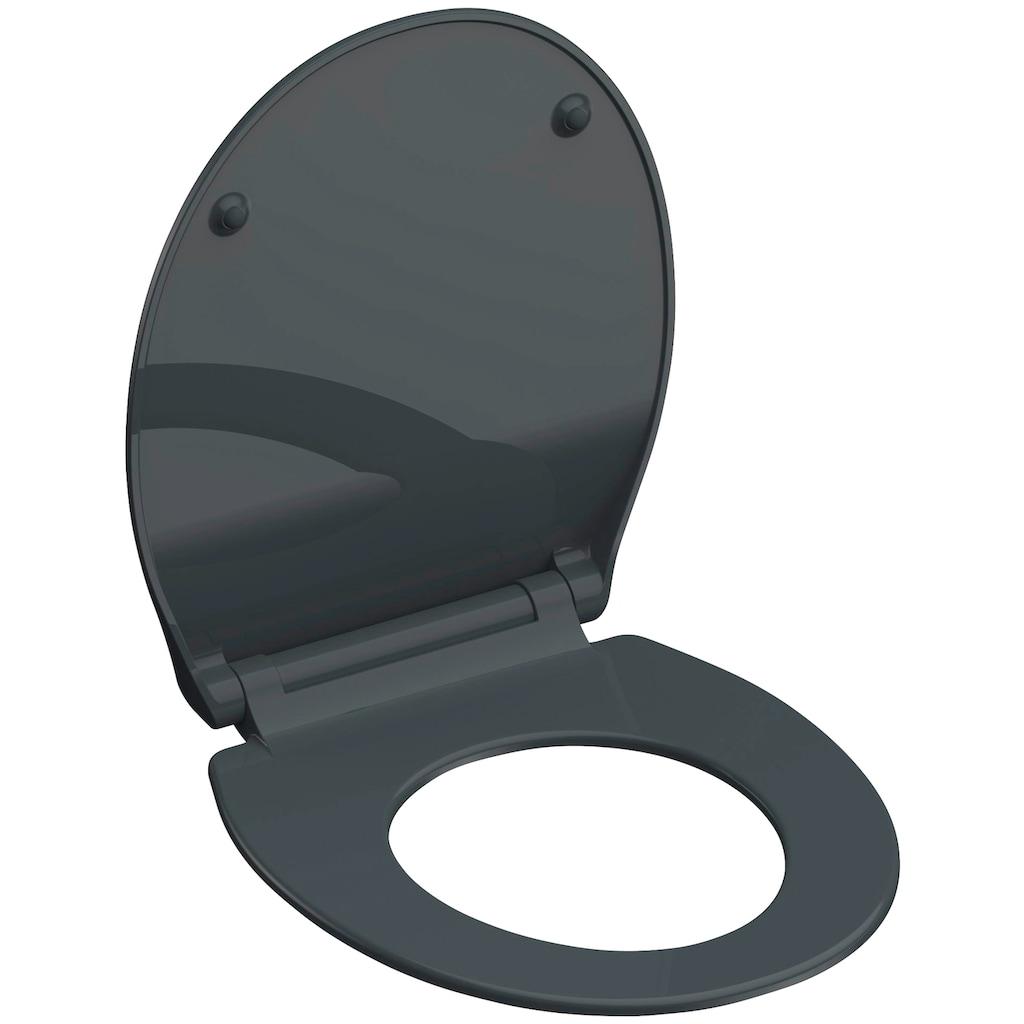 Schütte WC-Sitz, aus Duroplast mit Absenkautomatik