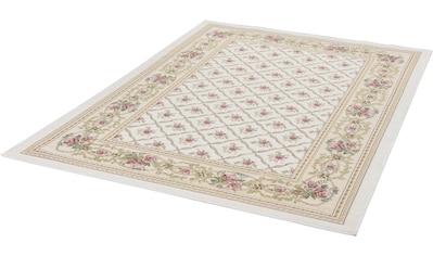 Teppich, »Flomi Rose Garden«, THEKO, rechteckig, Höhe 4 mm, maschinell gewebt kaufen