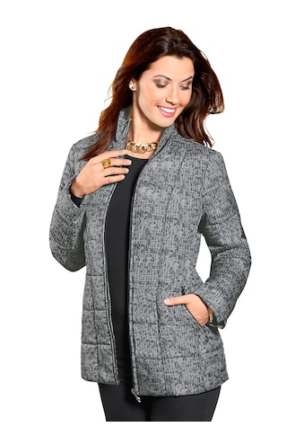 Classic Basics Steppjacke in Strick - Optik kaufen