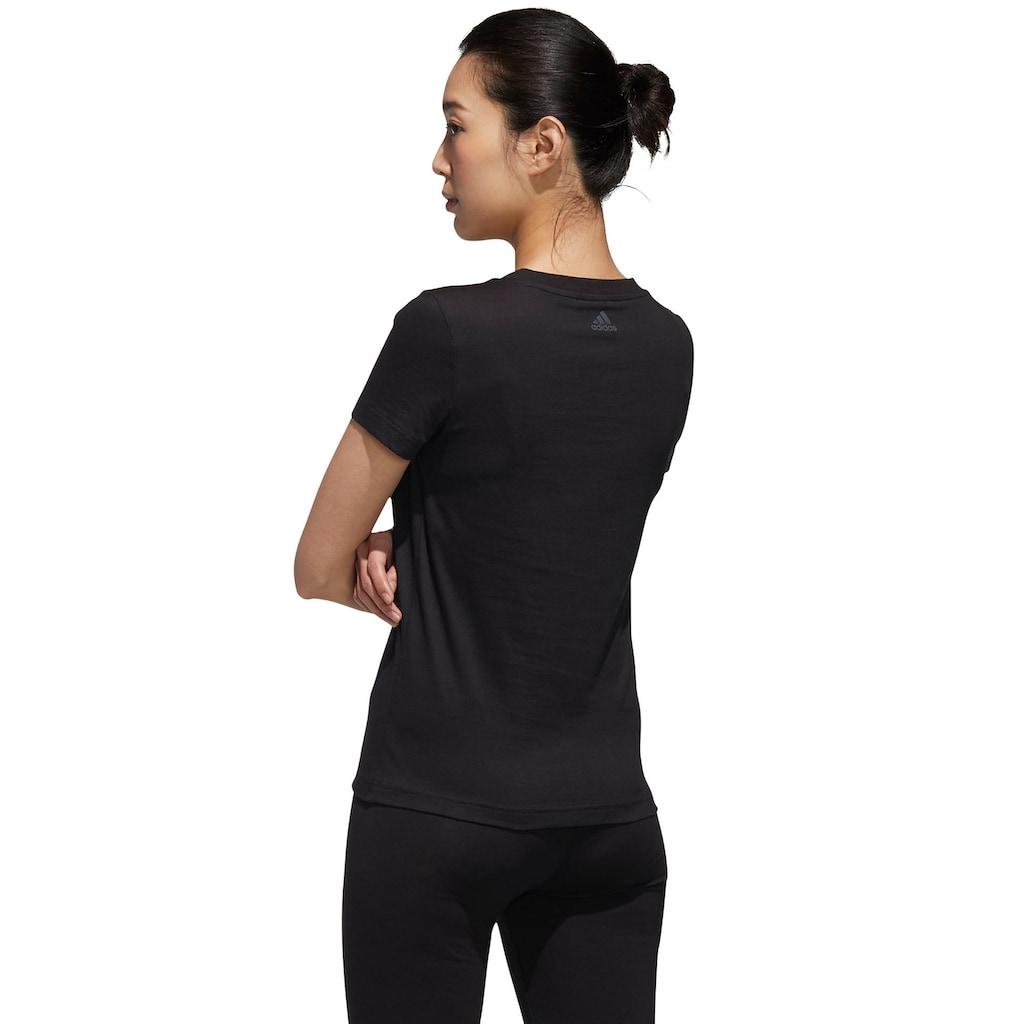 adidas Performance T-Shirt »WOMEN ESSENTIAL TEE«