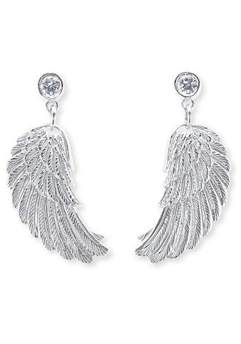 Engelsrufer Paar Ohrstecker »Where the angels fly, OHRSTECKER FLÜGEL SILBER MIT ZIRKONIA, ERE - WS« kaufen