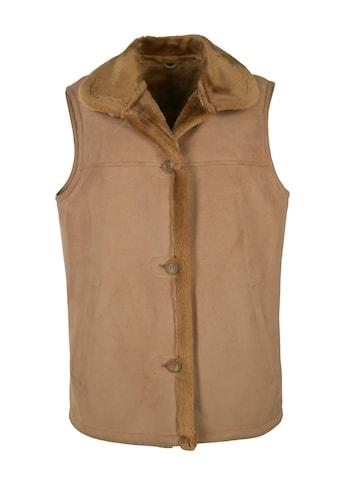JCC Weste mit flauschigem Hemdkragen »Linda« kaufen