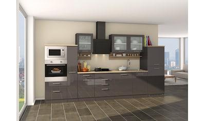 HELD MÖBEL Küchenzeile »Mailand 370GA«, mit E - Geräten, Breite 370 cm kaufen