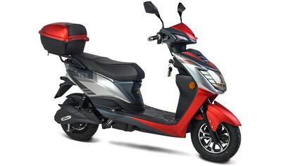 GT UNION E-Motorroller »eRunner 45 km/h«, 1600 W, 45 km/h, Euro 6, 60 km, 2,2 PS,... kaufen
