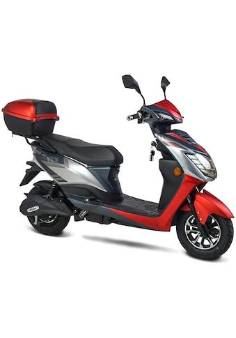 "GT UNION E-Motorroller »eRunner 45 km/h«, 1600 W, 45 km/h, Euro 6, 60 km, 2,2 PS, ""Coming Home""-Funktion, Alarmanlage mit 2 Remotecontrollern, Eco-Modus kaufen"