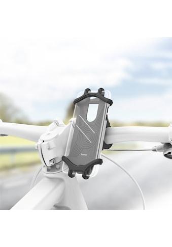 Hama Universal Smartphone Fahrradhalter Handyhalterung »Breite 6 - 8 cm, Höhe 13 - 15 cm« kaufen