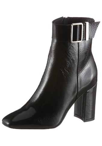 TOMMY HILFIGER Stiefelette »PATENT SQARE TOE BOOT« kaufen