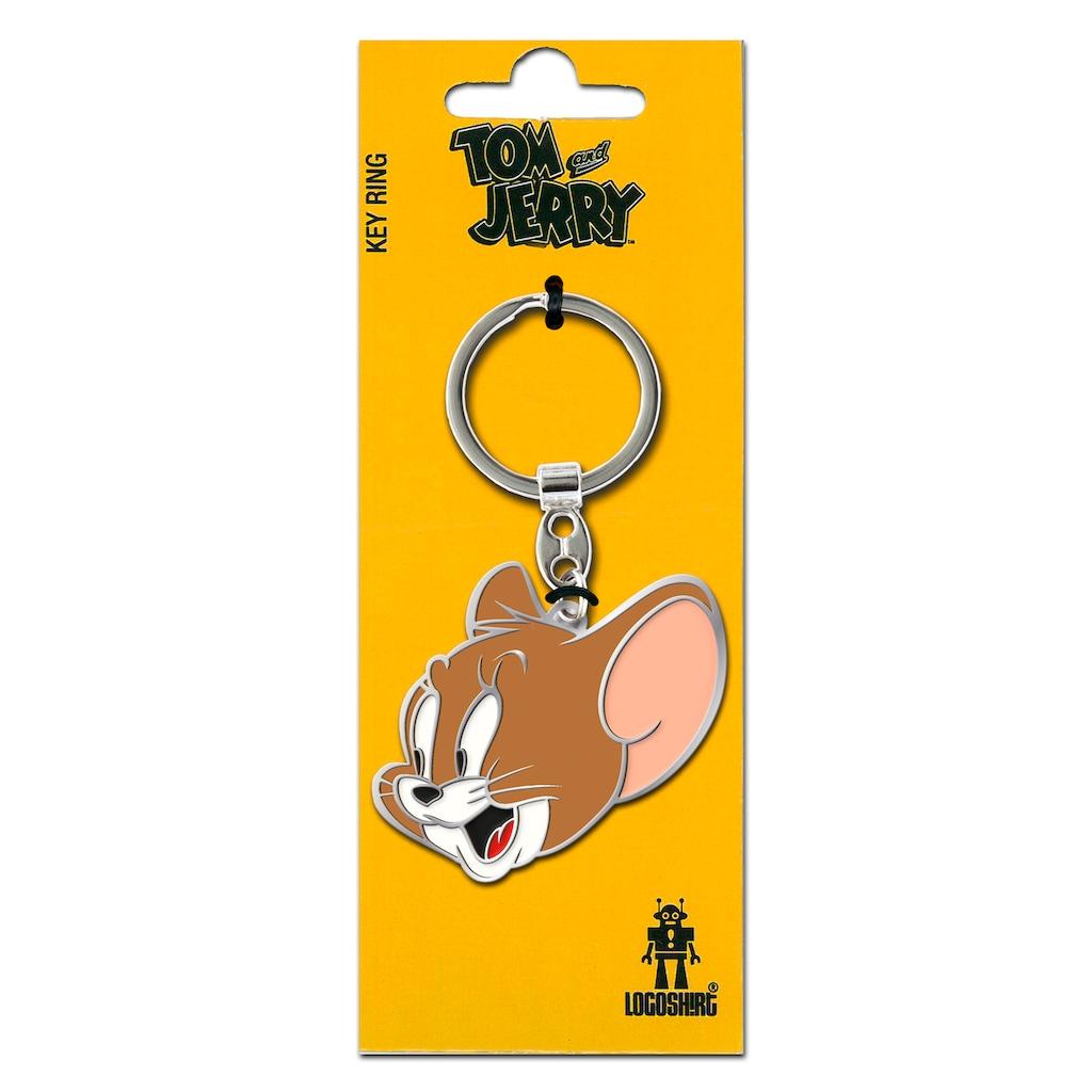 LOGOSHIRT Schlüsselanhänger »Jerry«, mit lizenziertem Originaldesign
