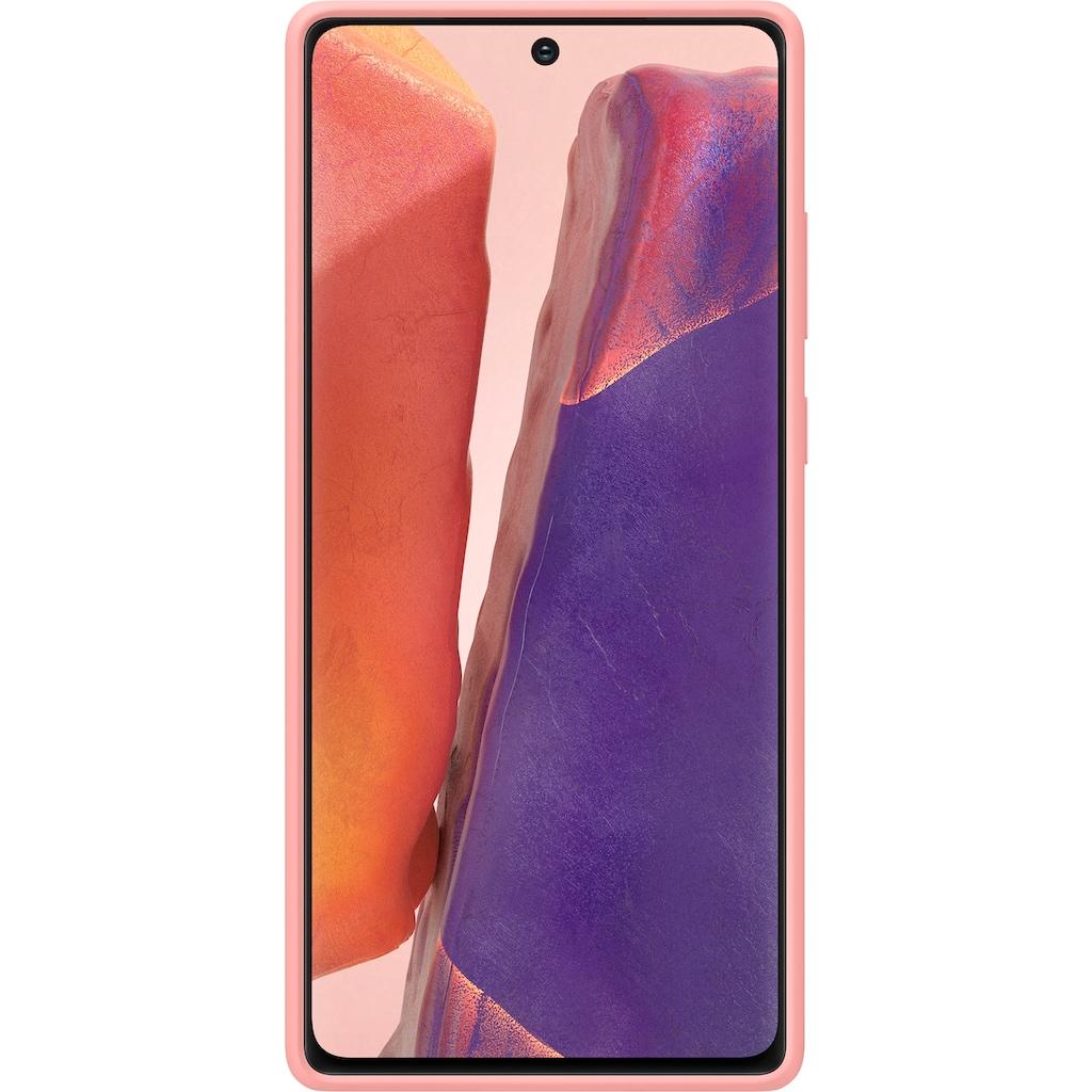 Samsung Handyhülle »Silicone Cover EF-PN980 für Note 20«, Galaxy Note20