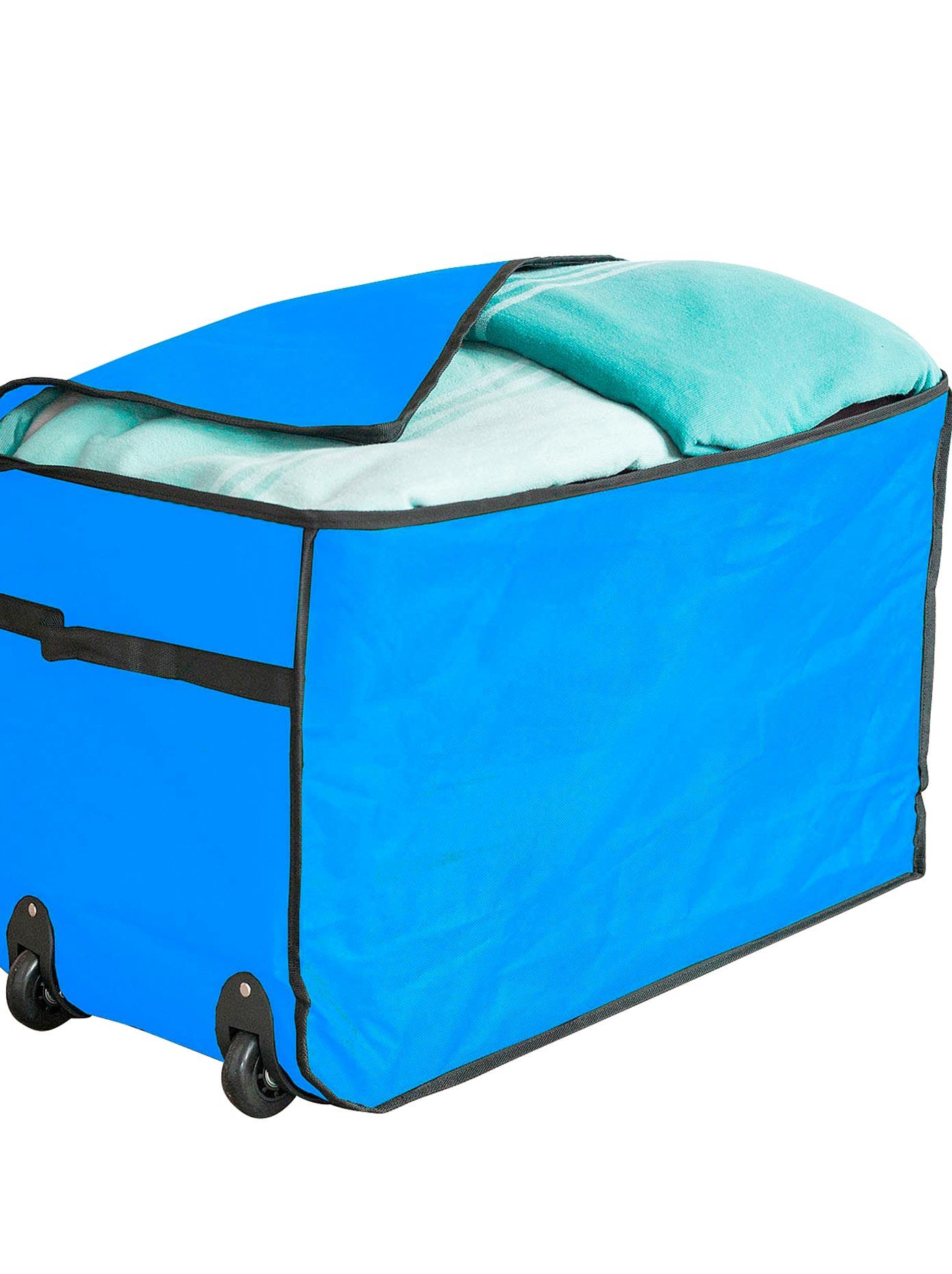 Aufbewahrungs-Trolley blau Aufbewahrung Ordnung SOFORT LIEFEERBAR Diele Flur Aufbewahrungssysteme