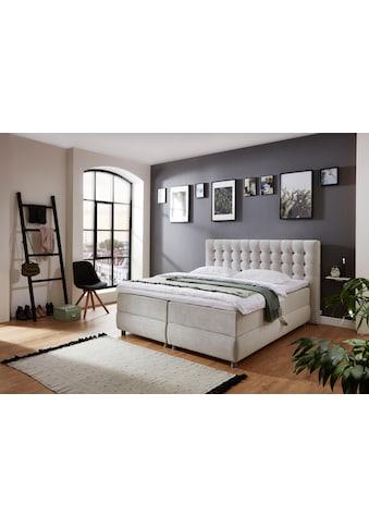 ATLANTIC home collection Boxspringbett, mit Bettkasten und Topper, auch in Überlänge kaufen