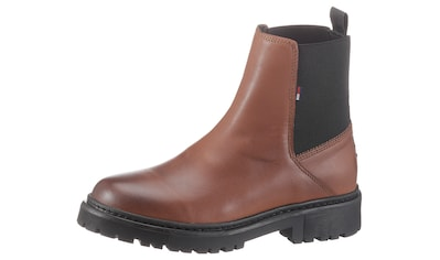 TOMMY JEANS Chelseaboots »ESSENTIAL LEATHER CHELSEA BOOT« kaufen