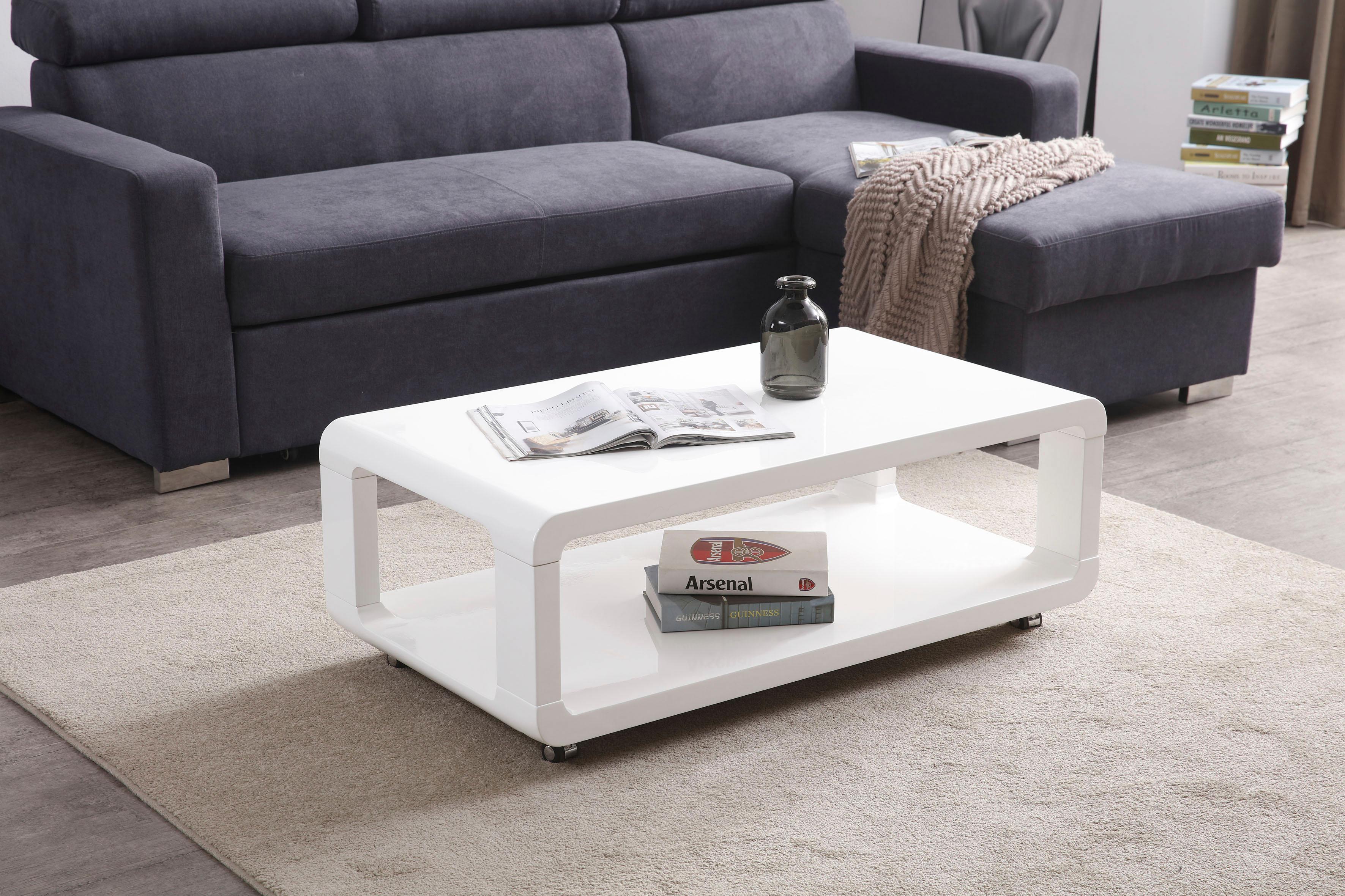 couchtisch auf rollen preisvergleich die besten angebote online kaufen. Black Bedroom Furniture Sets. Home Design Ideas