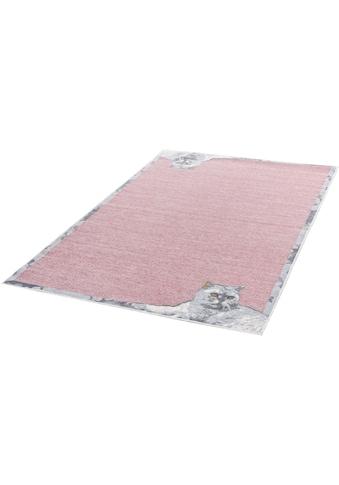 Teppich, »Flomi Cata«, THEKO, rechteckig, Höhe 4 mm, maschinell gewebt kaufen