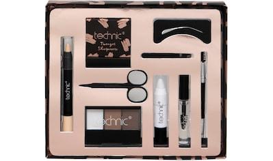"technic Augenbrauen - Kosmetika ""Brow Kit"", 9 - tlg. kaufen"