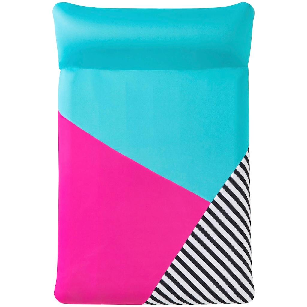 Bestway Luftmatratze »Poollounge«, mit Textilbezug, BxL: 124x183 cm