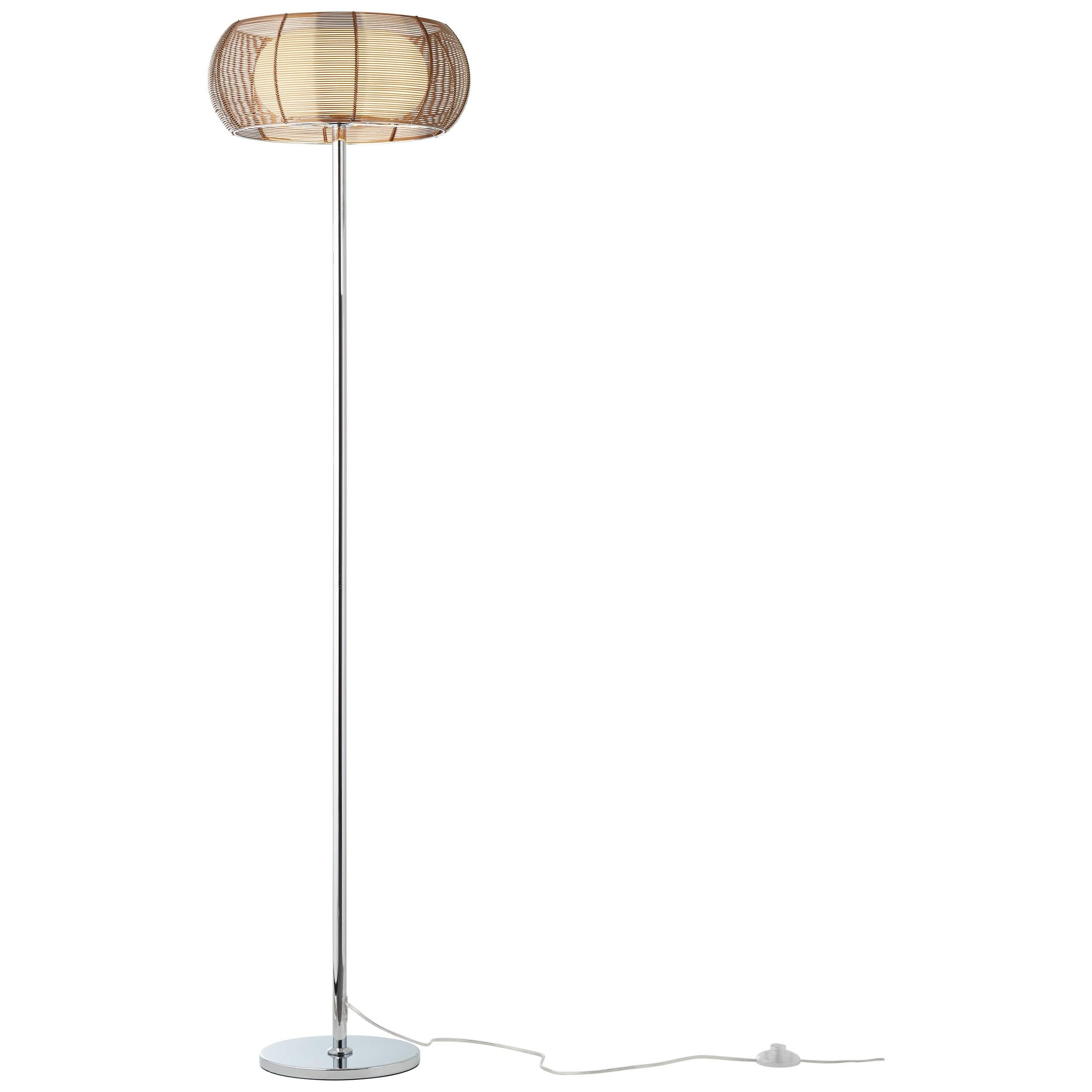 Brilliant Leuchten Relax Standleuchte 2flg bronze/chrom