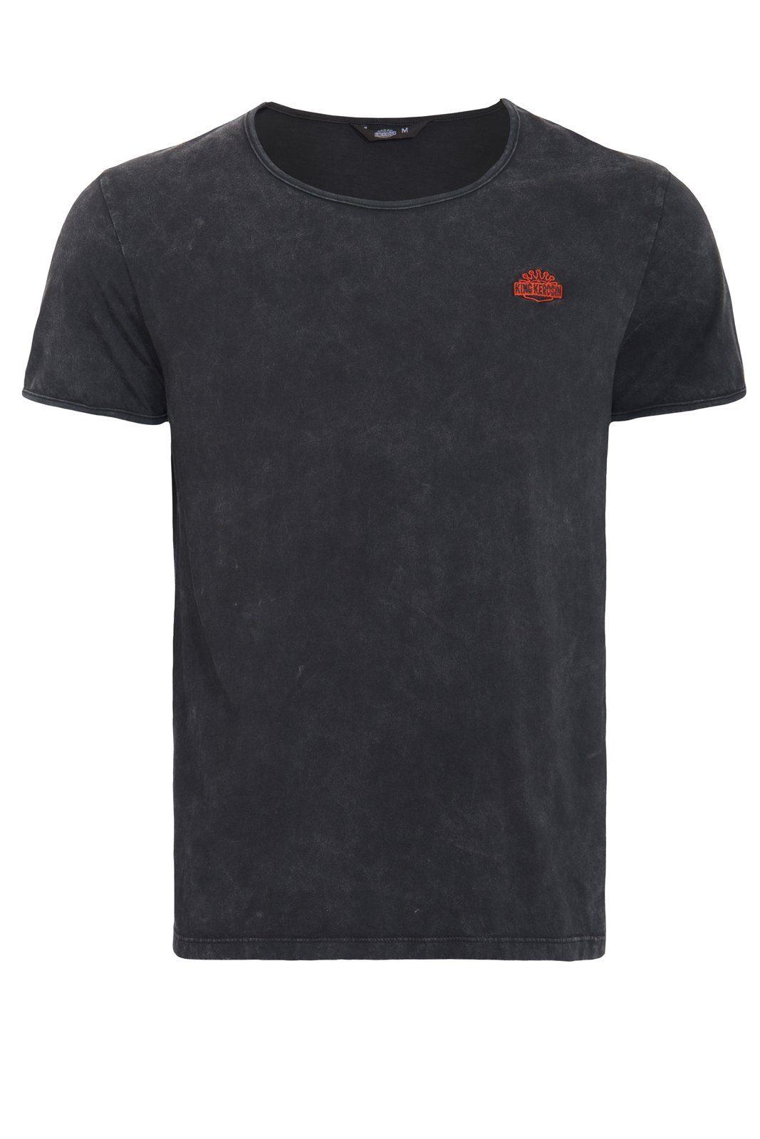 KingKerosin T-Shirt | Bekleidung > Shirts > Sonstige Shirts | Schwarz | Baumwolle | KINGKEROSIN