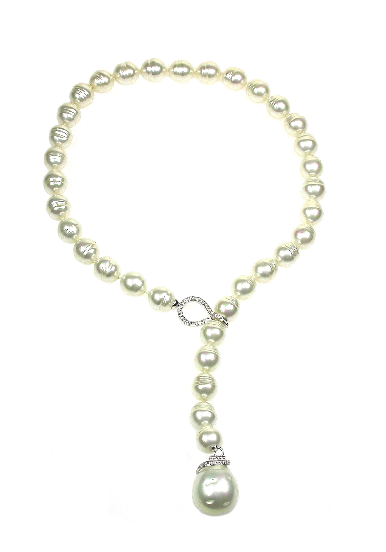 Orquidea Perlenkette Valentina Necklace | Schmuck > Halsketten > Perlenketten | Orquidea