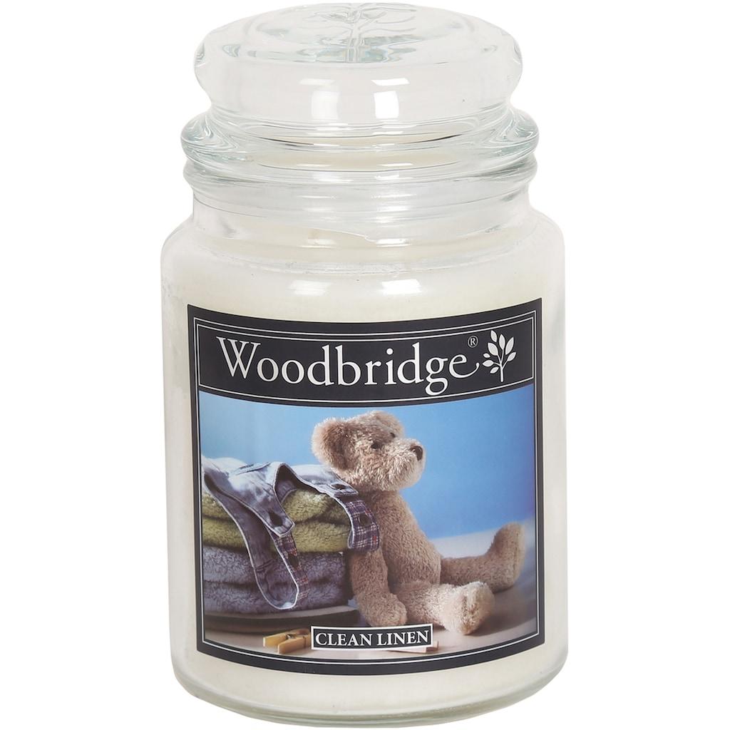Woodbridge Duftkerze »Clean Linen«