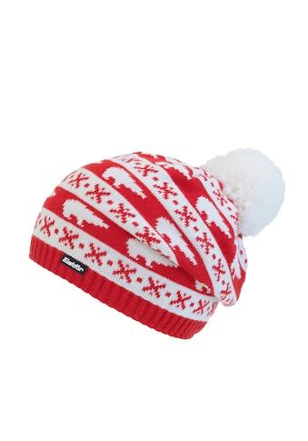Eisbär Weihnachtliche Bommelmütze kaufen