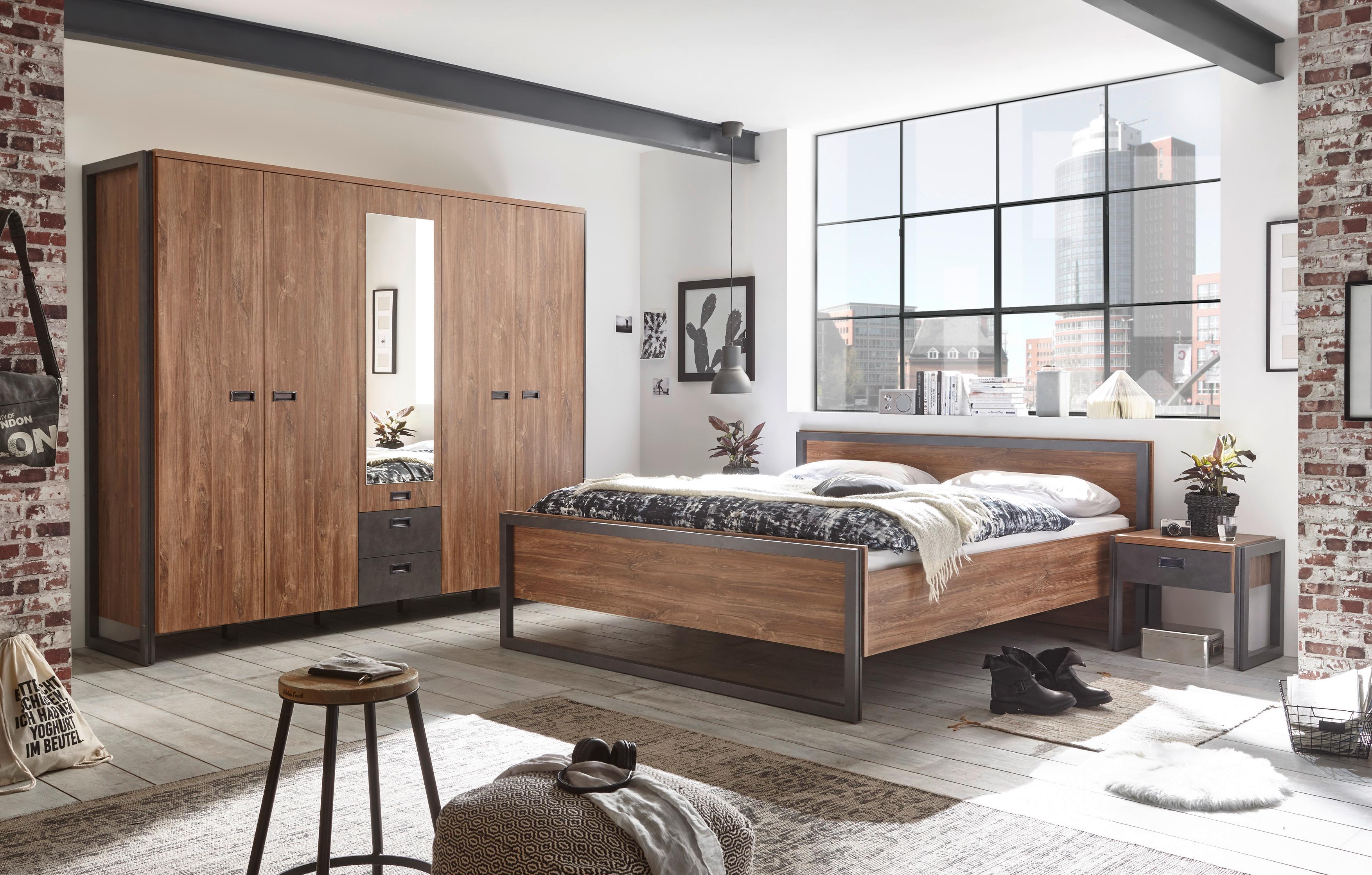 Home affaire Schlafzimmer-Set Detroit (Set 4-tlg)