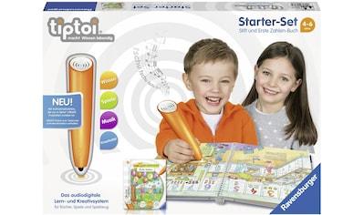 """Ravensburger Spiel, """"Ravensburger Starter - Set tiptoi® CREATE Stift u. Buch, Mein Lern - Spiel - Abenteuer: Erste Zahlen"""" kaufen"""