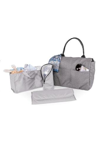 Chicco Wickeltasche »Organizer Bag, Cool Grey«, mit Rucksackfunktion und Wickelunterlage kaufen