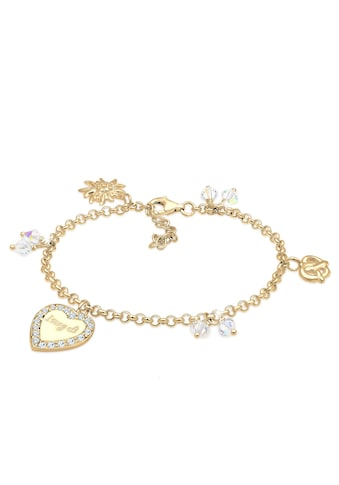 Elli Armband »Bettelarmband Wiesn Swarovski® Kristalle Silber« kaufen