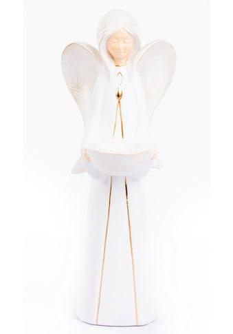 VALENTINO Wohnideen Teelichthalter »Engel Nora« (1 Stück) kaufen