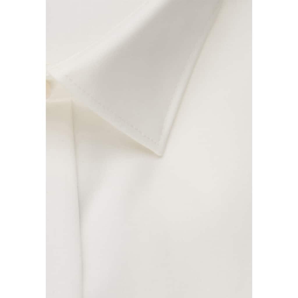 seidensticker Smokinghemd »Shaped«, Shaped Langarm Kentkragen Uni