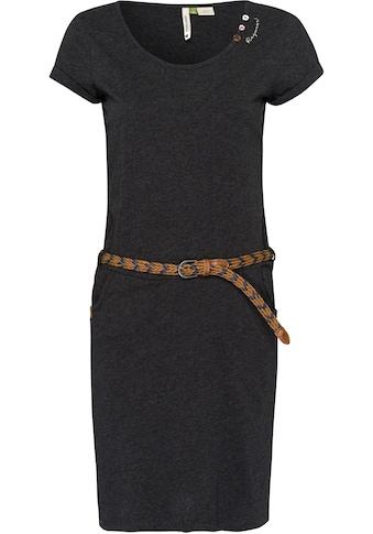 Ragwear Shirtkleid »MONTANA ORGANIC«, (2 tlg., mit abnehmbarem Gürtel), mit... kaufen