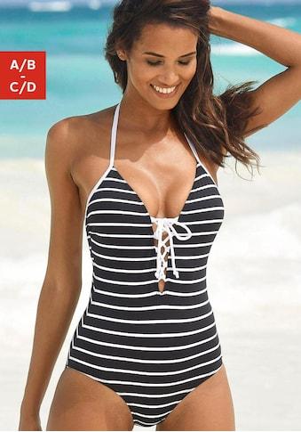 KangaROOS Badeanzug, mit Kontrastdetails kaufen