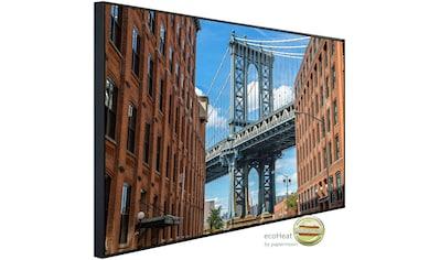 Papermoon Infrarotwandheizung »Brooklyn Dumbo Bereich«, sehr angenehme Strahlungswärme kaufen