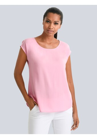 Alba Moda Bluse aus reiner Viskose kaufen