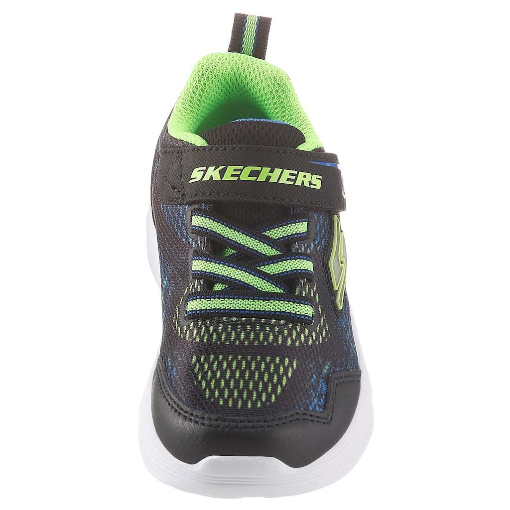 Skechers Kids Sneaker »Blinkschuh Erupters III«, mit Gummizug