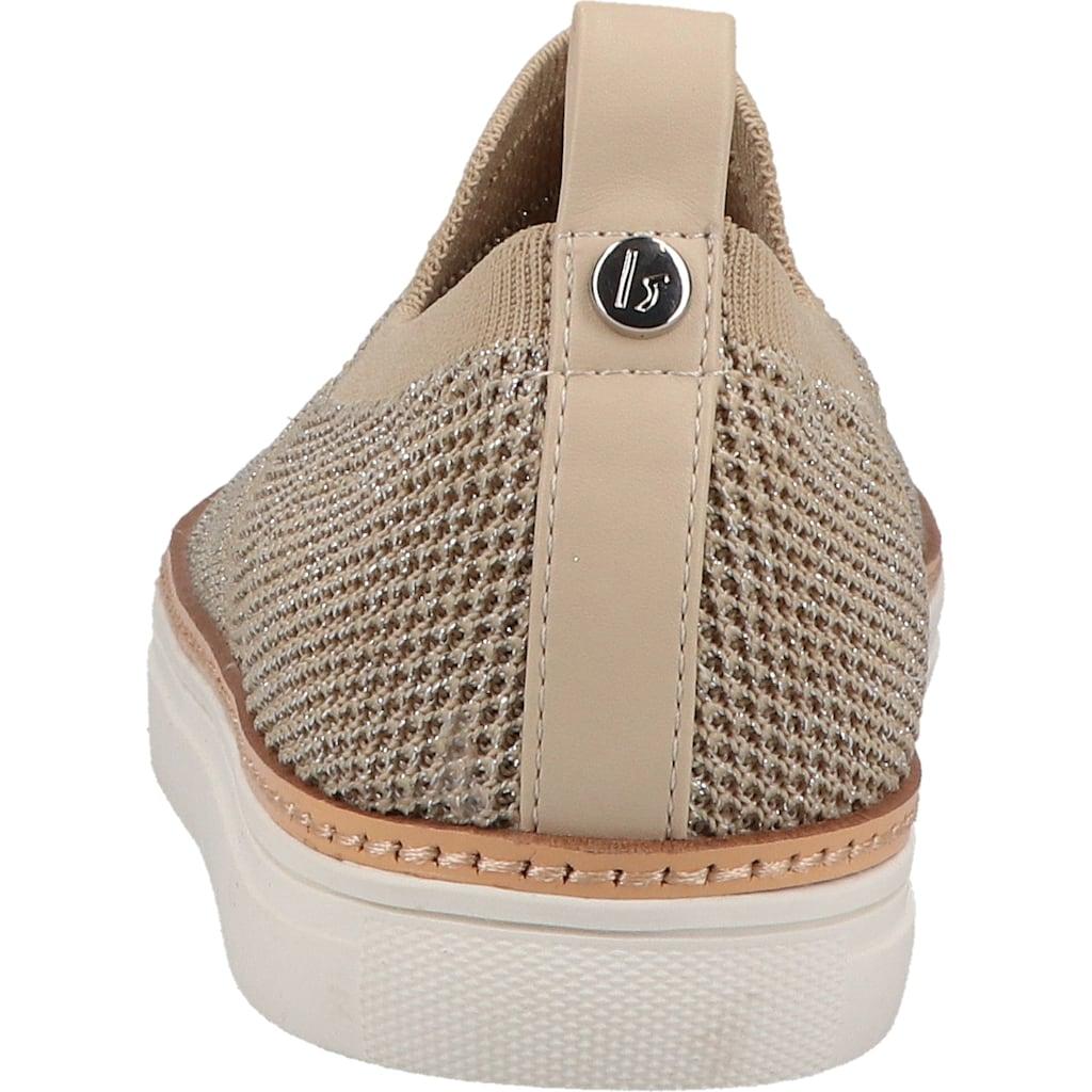 La Strada Slipper »Lederimitat/Textil«