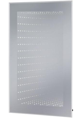 Badmobil LED-Lichtspiegel »Barcelona eckig«, mit Infinity-Effekt kaufen