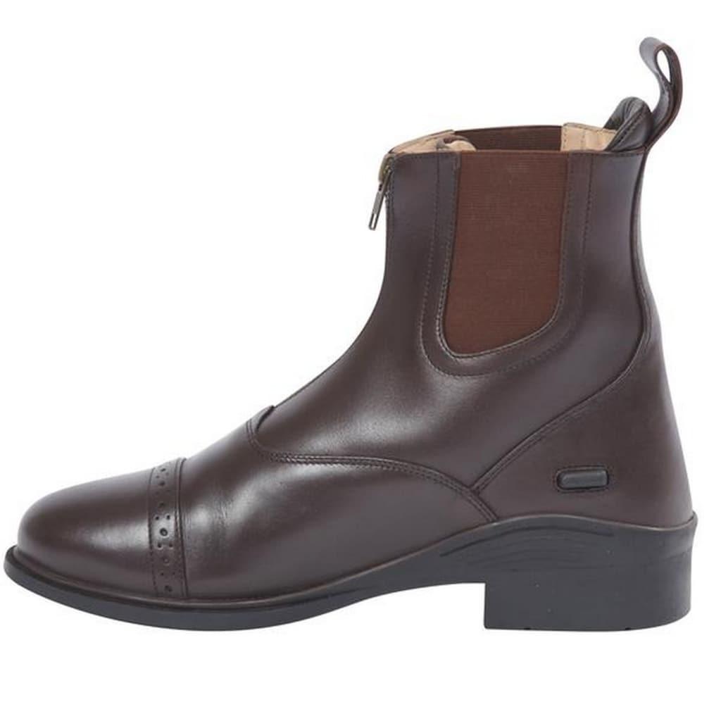 Dublin Reitstiefel »Evolution Unisex Leder Paddock Stiefel, vorderer Reißverschluss«
