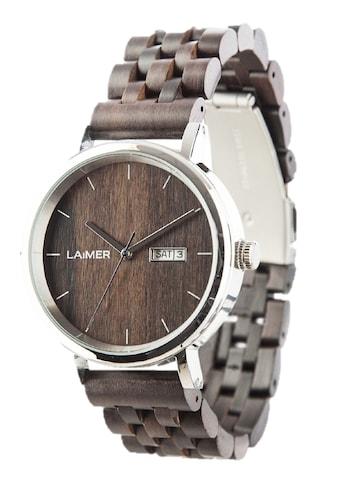 LAiMER Quarzuhr »Holzuhr Raúl« kaufen